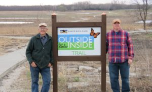 Dr. Roger Boyd, Education Coordinator & Professor Emeritus of Biology and Jon Boyd, Director of The Wetlands